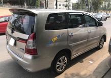 Bán Toyota Innova E 2015 MT, màu vàng cát, giá thuơng luợng, hỗ trợ góp