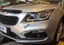 Bán Chevrolet Cruze 1.8LTZ đời 2018, màu bạc số tự động, giá 699tr