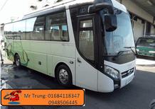 Bán xe 29-34 chỗ Thaco TB85 2018 Euro IV, ABS, phanh điện từ, trả góp