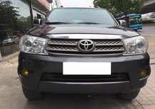Cần bán gấp Toyota Fortuner G đời 2009, màu xám, 610tr