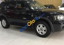 Bán Ford Escape 3.0 AT đời 2004, màu đen, 225tr