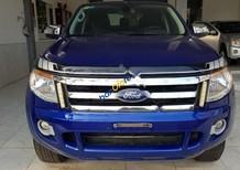 Cần bán Ford Ranger XLT 2.2L 4x4 MT đời 2014, màu xanh lam, nhập khẩu nguyên chiếc