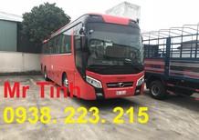 Bán Thaco Universe W375E4 W336E4 2018, màu đỏ, nhập khẩu nguyên chiếc