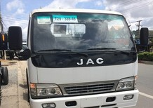 Bán xe tải Jac 4T95 thùng mui bạt /Jac 4.95 tấn/ Xe tải Jac 4T95 mã HFC1048K