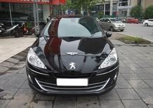 Cần bán gấp Peugeot 408 sản xuất 2015, màu đen, giá 555tr