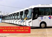 Xe khách 29 chỗ bầu hơi TB85, mua xe 29 chỗ Thaco TB85 trả góp