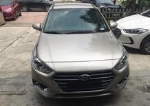 Bán xe Hyundai Accent 1.4L AT đời 2018, màu bạc, giá tốt xe giao ngay