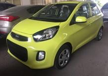 Bán xe Kia Morning màu xanh mới 100% tại Đồng Nai. Giá 290tr, ngân hàng hỗ trợ vay đến 80%
