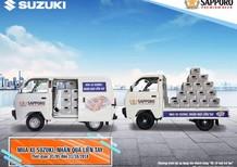 Bán Suzuki Super Carry Van EURO 4 đời 2018, màu trắng