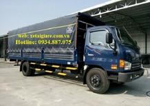 Bán xe tải Hyundai HD120SL 8 tấn thùng dài 6.3 mét hàng 3 cục