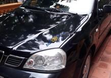 Cần bán lại xe Daewoo Lacetti EX 1.6 MT đời 2005, màu đen