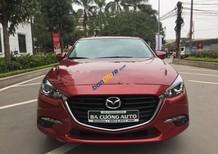 Cần bán lại xe Mazda 3 đời 2017, màu đỏ số tự động, giá tốt