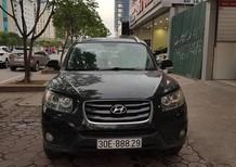 Xe Hyundai Santa Fe 2.0L SLX 2009, màu đen, nhập khẩu nguyên chiếc giá cạnh tranh