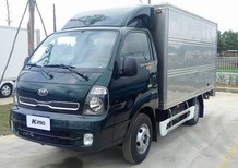 Kia K250, tải trong 1 tấn 4 và 2 tấn 4, nâng tải mới, máy điện chuẩn Euro 4