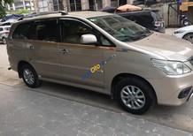 Bán ô tô Toyota Innova E sản xuất năm 2013, màu vàng cát, số sàn