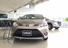 Bán ô tô Toyota Vios 1.5 ECVT đời 2018, màu vàng, giá 525tr