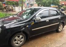Cần bán lại xe Daewoo Lacetti EX 1.6 MT 2004, màu đen