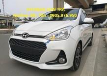 Hyundai Sơn Trà bán xe Hyundai i10 đời 2018, màu trắng, xe nhập CKD, giá tốt nhất Đà Nẵng