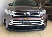 Bán ô tô Toyota Highlander LE 2.7 2017, màu nâu, nhập khẩu