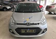 Bán Hyundai Grand i10 năm sản xuất 2016, màu bạc, nhập khẩu