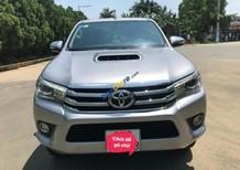 Việt Anh Auto bán xe Toyota Hilux 3.0G 4x4 AT sản xuất năm 2016, màu bạc, nhập khẩu