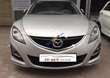 Tứ Quý Auto bán xe Mazda 6 2.0 AT đời 2011, màu bạc, nhập khẩu