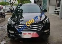 Cần bán lại xe Hyundai Santa Fe 2.2 sản xuất 2017, màu đen, giá tốt