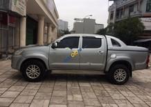 Bán Toyota Hilux 3.0G 4x4 MT đời 2014, màu xám, xe nhập