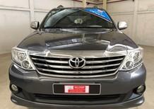Cần bán lại xe Toyota Fortuner 2.7V 2012, màu xám, số tự động