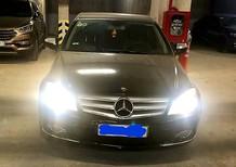 Cần bán lại xe Mercedes C230 đời 2008, màu đen, ít sử dụng