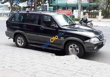 Cần bán gấp Ssangyong Musso sản xuất năm 2005, màu đen, giá tốt
