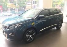 Bán ô tô Peugeot 5008 1.6 AT sản xuất 2018, màu xanh lam