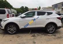 Bán xe Hyundai Santa Fe 2018, màu trắng, giá tốt