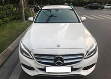Mercedes Benz C200 màu trắng, sản xuất 2015. Biển Hà Nội