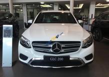 Bán ô tô Mercedes GLC 200 năm sản xuất 2018, màu trắng, nhập khẩu