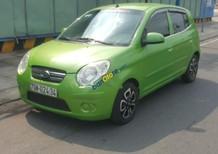 Cần bán gấp Kia Morning 1.0 sản xuất năm 2012, màu xanh lam