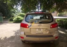Cần bán xe Santafe đời 2007, máy xăng, số tự động, màu vàng cát