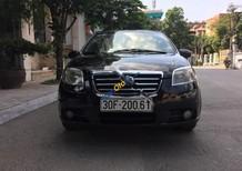 Bán Daewoo Gentra MT sản xuất năm 2008, màu đen xe gia đình