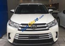 Bán ô tô Toyota Highlander đời 2017, màu trắng, nhập khẩu nguyên chiếc