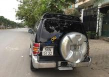 Cần bán Mitsubishi Pajero đời 2004, màu đen số sàn