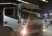 JAC 4.95 tấn, đầu vuông, ĐC EURO 4, thùng 4m2