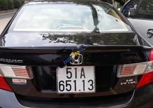 Bán Honda Civic đời 2013, màu đen, xe nhập