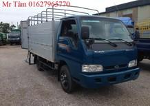 Xe tải Kia, Thaco Kia K165S thùng mui bạt, thùng kín nâng tải từ 1.4 tấn lên 2.3 tấn. Liên hệ mr tâm 0327965770
