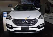 Cần bán xe Hyundai Santa Fe đời 2018, màu trắng