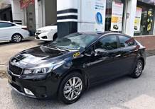 Cần bán gấp Kia Cerato 1.6 MT sản xuất năm 2016, màu đen, giá 525tr