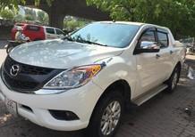 Cần bán xe Mazda BT 50 2.2L 4x2 AT năm sản xuất 2015, màu trắng, xe nhập