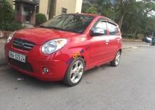 Cần bán lại xe Kia Morning SLX sản xuất 2008, màu kem (be), xe nhập số tự động, 235tr