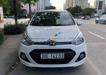 Cần bán Hyundai Grand i10 1.2 AT sản xuất năm 2015, màu trắng, xe nhập