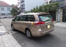 Bán Toyota Sienna 2.7LE năm 2011, màu vàng, xe nhập