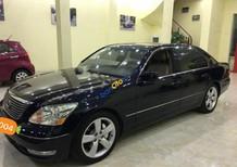 Bán ô tô Lexus LS sản xuất năm 2004, màu đen, nhập khẩu chính chủ